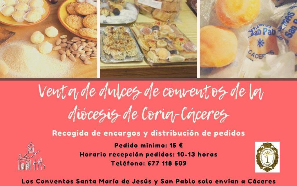 Venta de dulces de los conventos de la Diócesis